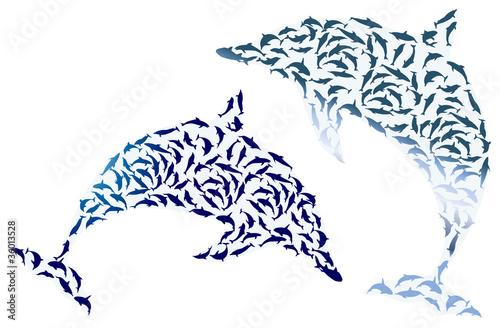插图海游泳笔组绘图自然艺术象徵载体野生动物阴影食物鱼鳍黑色龟see