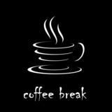 Logo coffee break # Vector