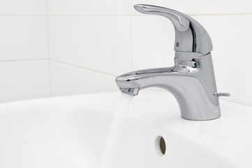 working mixer tap