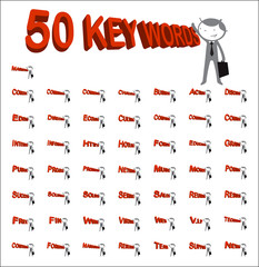 50 key words
