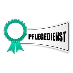 sticker siegel pflegedienst 1