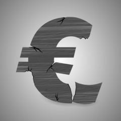 eurozeichen zerbröselt I