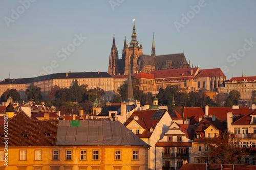 Staande foto Praag Prague Castle complex, detail