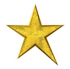 Gold Star - Goldener Stern