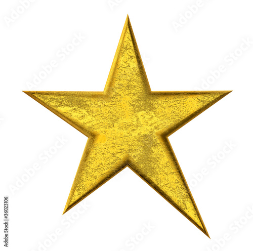Gold Star - Goldener Stern