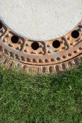 Sewer and Grass