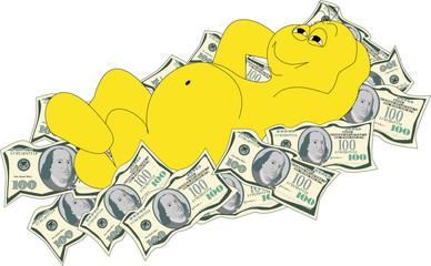 Грушик - купаться в деньгах