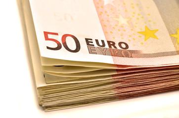 Fajo de billetes de 50€