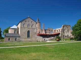 Haapsalu Episcopal Castle in clear day