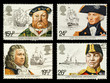 Britain Naval History Postage Stamps - 36037354