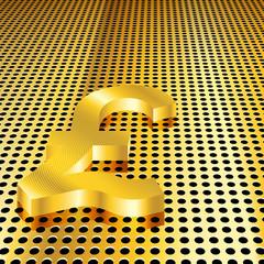 Golden Pound Background