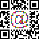 Fototapety QR Code With AT Symbol