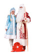 Russian Christmas characters. Isolated