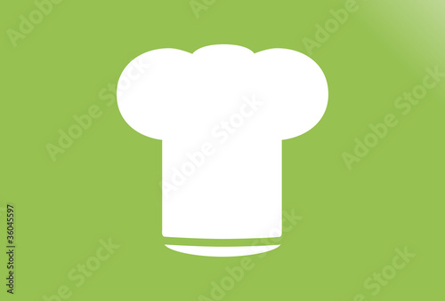 Chef's Hat Vector Symbol Icon
