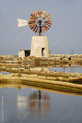 mulino per il sale (Trapani)