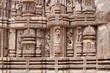 Fine carving on sandstone of Sun temple Konark