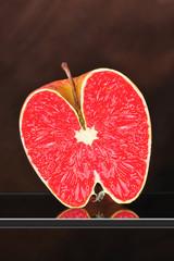 Pomme coupée