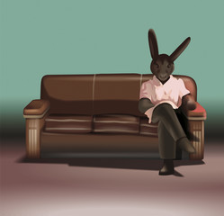 based on the movie Rabbits