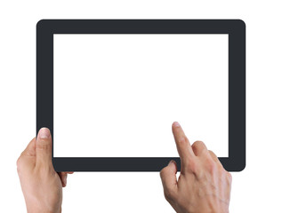 Digital tablet touchscreen