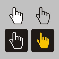 finger icon