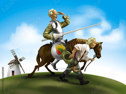 Don Quixote illustration