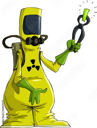 Radiation suit