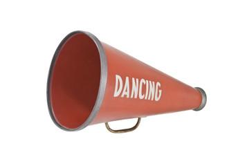 Vintage Dance Megaphone