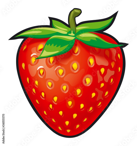 illustration of strawberry