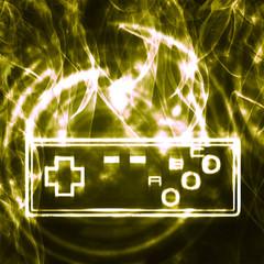illustration of the joystick