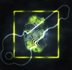 illustration of the fingerprint