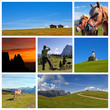 collage alpe di siusi