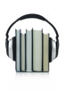 Audiobooks Concept isolated