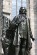 statue von j. s. bach in leipzig