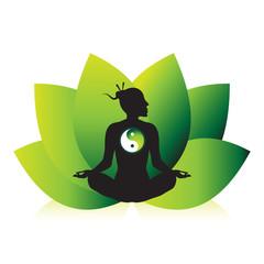 Zen Mediation Ying Yang