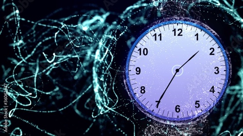 Clock Particle - HD1080