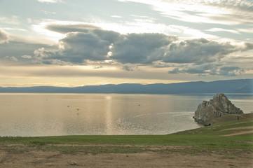 Lake Baikal, Olkhon Island, Cape Burkhan (Rock Shamanka)
