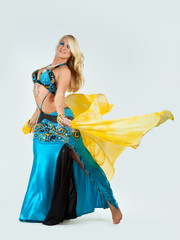 The girl in dance