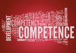 "Word Cloud ""Competence"""