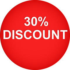 web button DISCOUNT