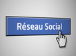 Réseau social bouton