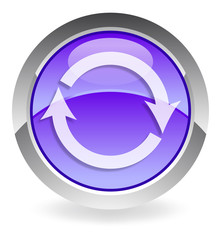 "violet vector button ""refresh"""