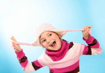 Freches kleines Mädchen :-)
