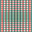 red green black line square pattern