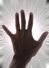 Energía detrás de la mano