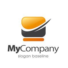 media, web, logo d'entreprise