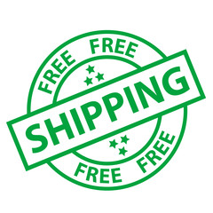 """FREE SHIPPING"" Marketing Stamp (delivery service home express)"