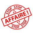 Tampon STOP AFFAIRE (marketing offre spéciale soldes étiquette)