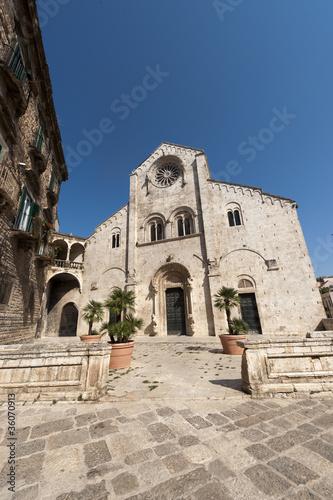 Bitonto (Bari, Puglia, Italy) - Old cathedral in Romanesque styl - 36070913