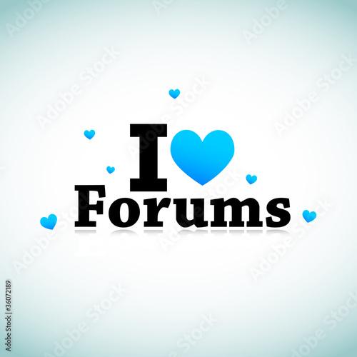 I Love Forums