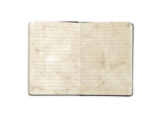 Vintage style blank book